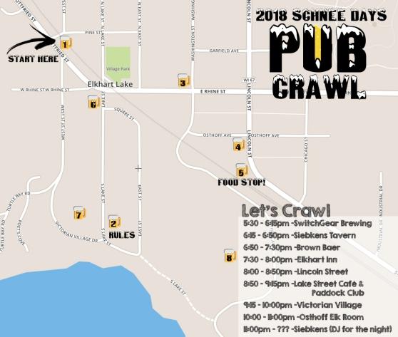 2018 Schnee Pub Crawl